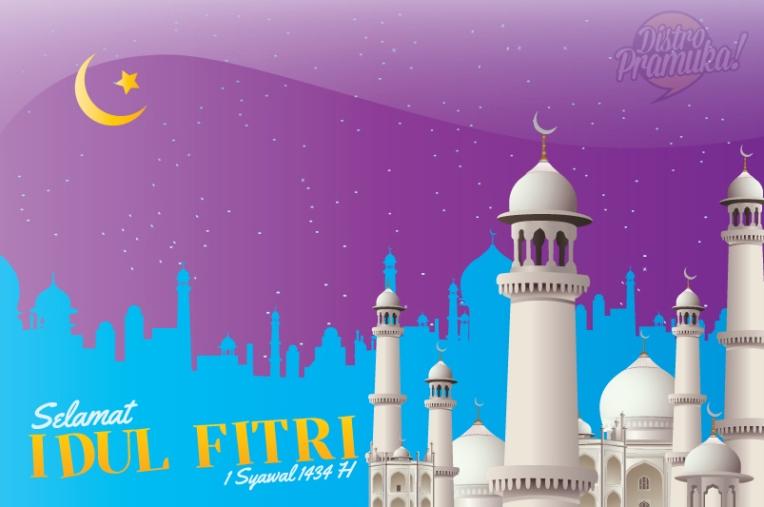 Kartu Ucapan Selamat Hari Raya Idul Fitri 1434 H