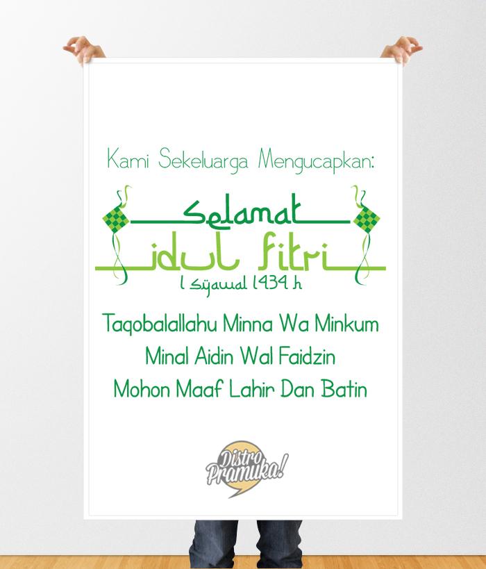 Selamat Hari Raya Idul Fitri 1434 H