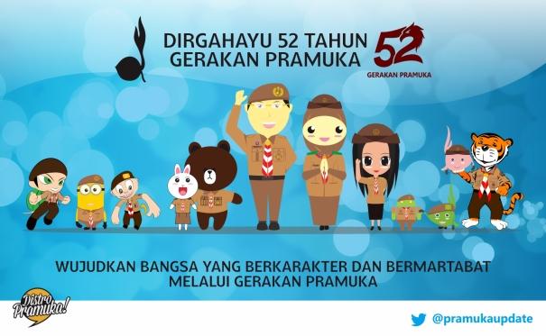 Poster Hari Pramuka