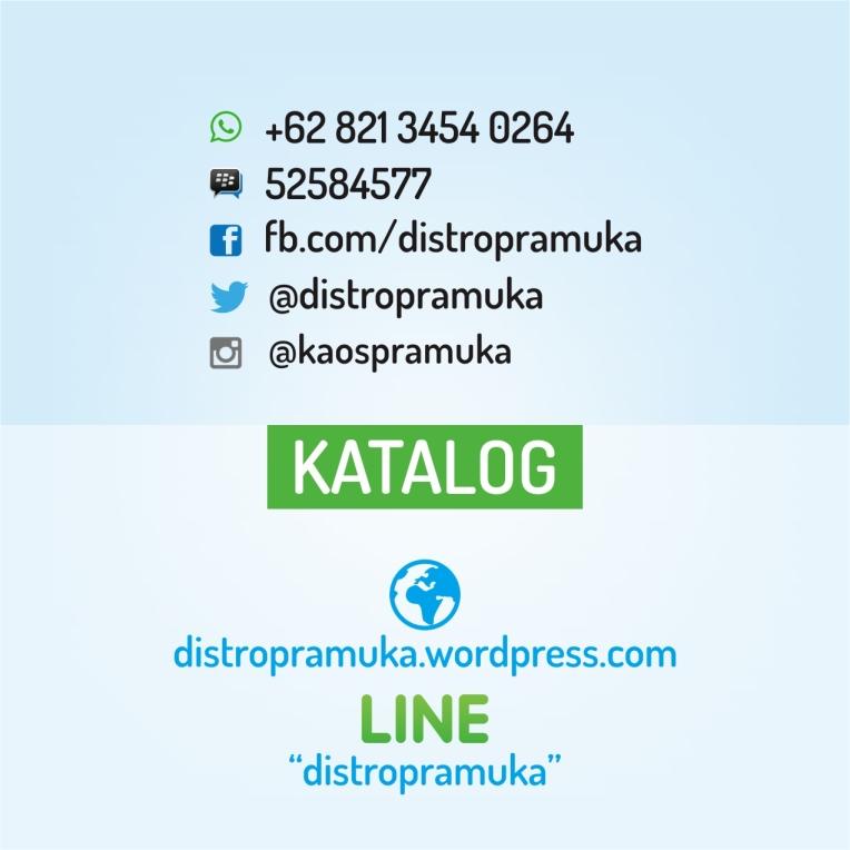 Desain Contact Jaket Pramuka