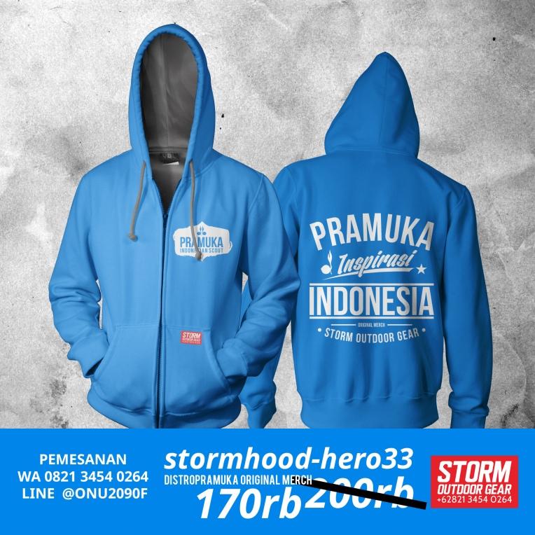 Jaket Pramuka by Storm Outdoor Gear - Distro Pramuka