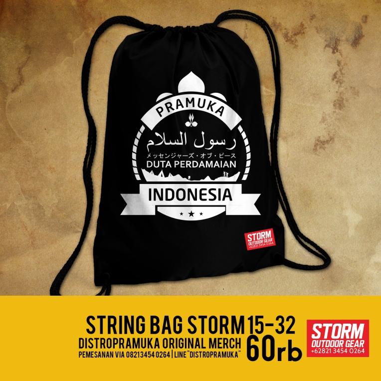 String Bag/ Tas Pramuka